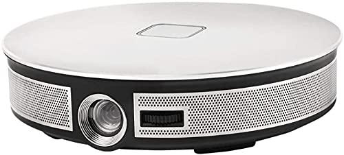 QOHG Portátil Mini Proyector High Performance DLP Proyector 3500 Lumens Películas de Interior y al Aire Libre, orador Incorporado