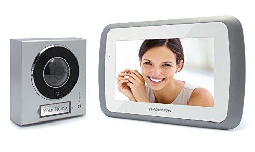 """Thomson 512162-7""""puerta de vídeo de intercomunicación de seguridad del hogar del timbre del color"""