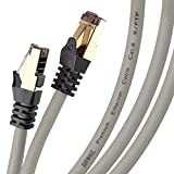 Duronic GREY 15M CAT8 Cable   S/FTP Shielded...