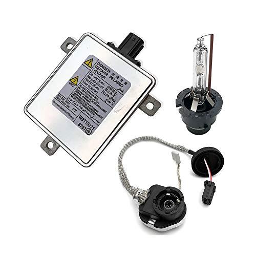 DOEU Xenon HID Scheinwerfer Vorschaltgerät Steuergerät Steuergerät mit Zünder und D2S Glühbirne OEM # W3T15671 W3T16271 W3T20971
