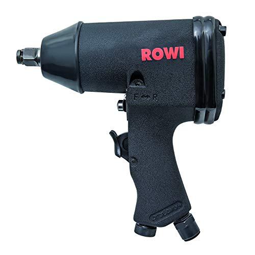 ROWI Druckluft Schlagschrauber Set 16/1 16-teilig im Koffer