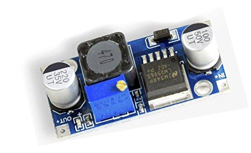 MissBirdler DC-DC Spannungsregler, Step down, Spannungswandler LM2596S LM2596 von3,2-40V nach1,25-35V Für Arduino; UBEC SBEC BEC