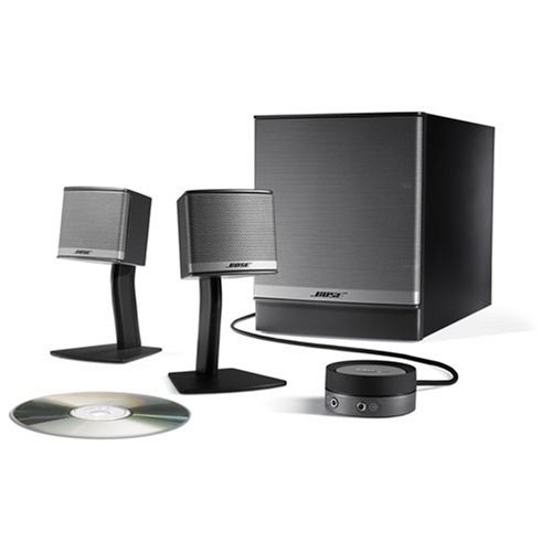 Sistema de altavoces multimedia Bose Companion 2Serie II (grafito/plateado)