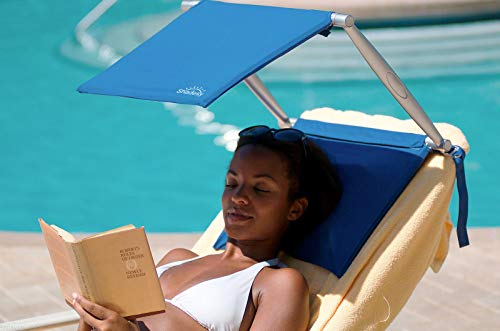 SHADESY-1 Blue Lightweight Portable Beach and Outdoor Sunshade Providing UV, UVA, UVB Sun Protection (SUNSHADE ONLY)