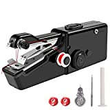 Handheld Sewing Machine | 100% Copper Motor | Black, White & Pink | Free 24/7 Aftersale 1-1 Support & Consultation Regarding Sewing - Black