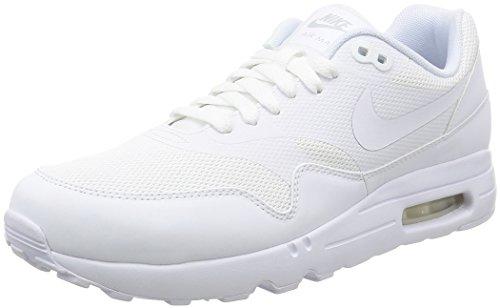 Nike Air Max 1 Ultra 2.0 Essential, Scarpe da Ginnastica Uomo, Bianco (White/White/Pure Platinum), 46 EU