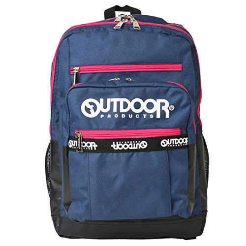 [アウトドアプロダクツ] OUTDOOR PRODUCTS リュック 通学 大容量 メンズ バックパック 30L OLG103 丈夫 リュックサック 黒 ブラック レディース