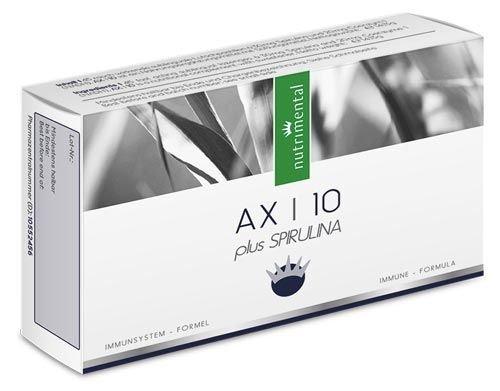 NADH AX10 - Coenzym 1 - Energie für Körper & Geist - 45 Lutschpastillen - Spirulina-Algenpulver 30 mg - 20 mg reines NADH