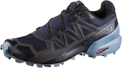 Salomon Men's Speedcross 5 Trail Running Shoe Black Size: 12 M US