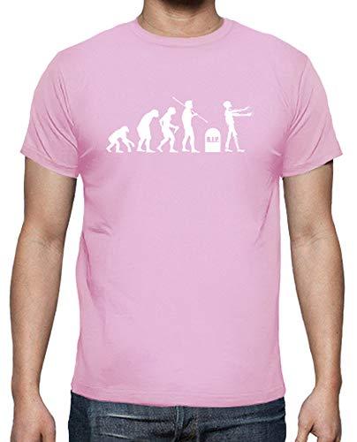 tostadora - Mnner - T-Shirt Zombie-Evolution Rosa M