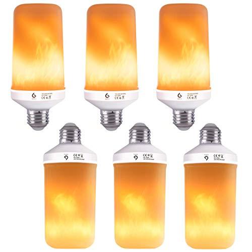 10 x Flicker Flame Candle ampoules idéal pour Halloween Grande Baïonnette