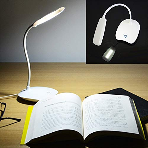 CHENTAOCS Junejour USB Oplaadbare 3 Modes Touch Screen Knop Opvouwbare Tafellamp Verstelbare LED Bureaus Lamp Studie Licht