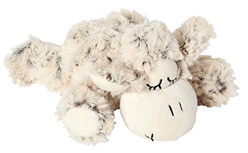 Inware 6357 - Peluche Mouton Sleepy, 18 cm, Beige/moucheté