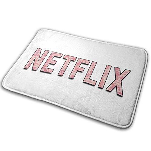 Netflix Fußmatten mit Gummirückseite, rutschfeste Fußmatte, einfach zu reinigen, für drinnen und draußen, personalisierbar