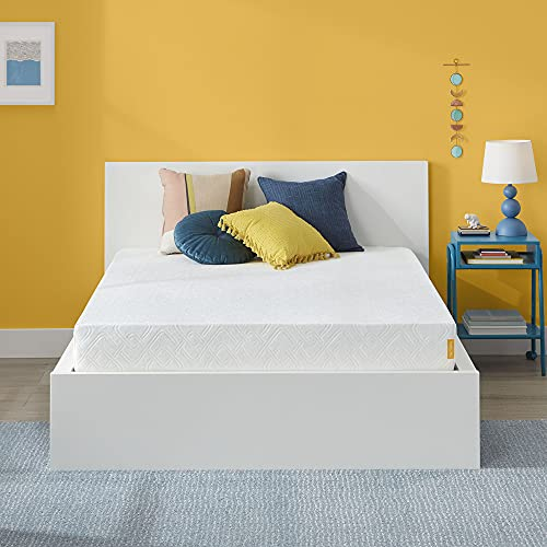 Simmons Memory Foam Mattress - 8 Inch, Full Size, Medium Firm Feel, Cooling Gel, Motion Isolating Design, CertiPur-US Certified, Bed In A Box