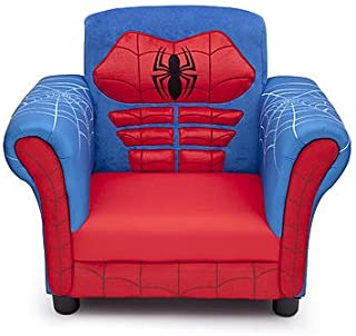 Kids, Children, Toddlers Upholstered Fabric Chair (Spiderman)