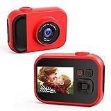 子供用カメラ,TONDOZEN子供用デジタルカメラ キッズカメラ 2400万画素 1080Pビデオカメラ mp3プレイヤー スビーカー内蔵 USB充電 誕生日プレゼント 32GB SDカード付き 日本語取扱説明書
