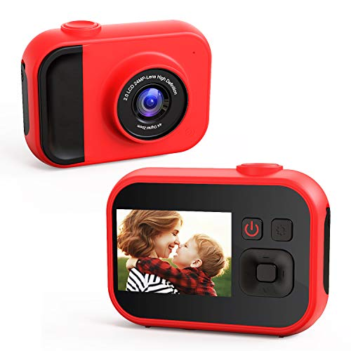 Kids Camera,1080P 24MP Digital Video Cameras for Children 2.0 Inches Screen Toddler...