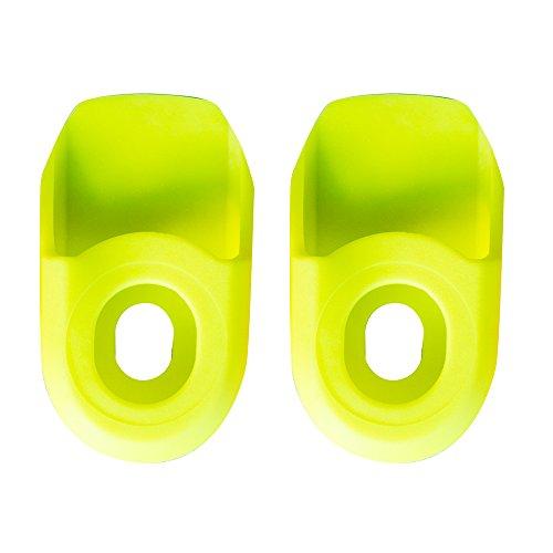 SB3 SBPEPRO2 Paire de Protections de manivelle Mixte Adulte, Jaune