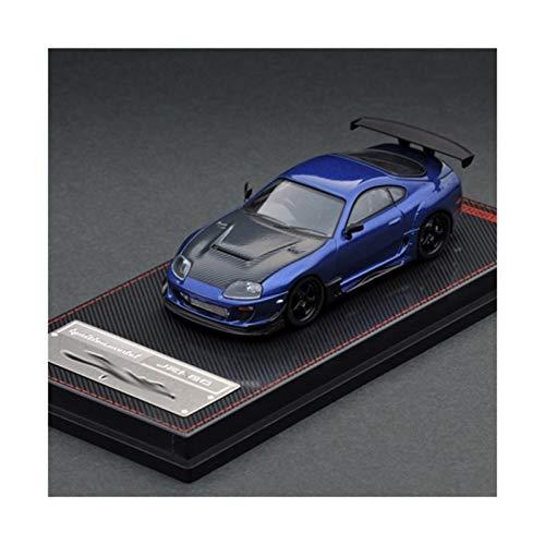 NMBD Model Car 1:64 Toyota Supra RZ Blue Metallic modellino Auto
