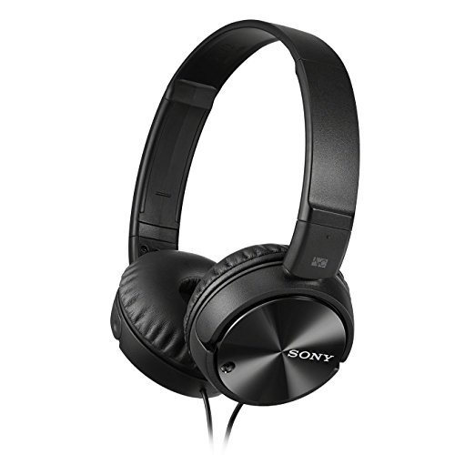 Sony MDR-ZX110NA Overhead Noise Cancelling Headphones - Black
