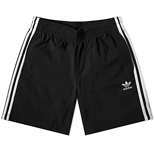 adidas 3-Stripes Swims Swimsuit, Mens, Negro, L