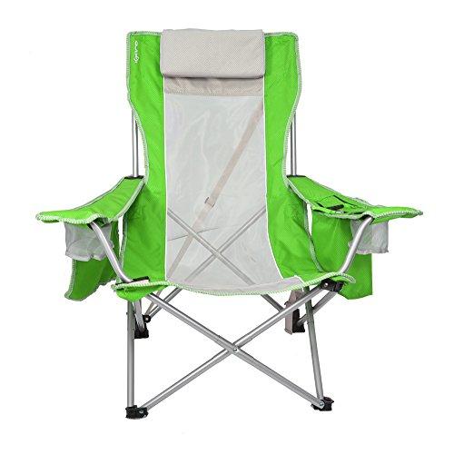 Kijaro Coast Beach Sling Chair Strandküstenstuhl, Stoff, Key West Limettengrün