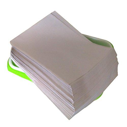 Keimung Papier, Mecotech 150er 29x20cm Keimung Seed Sprouter Paper Gemüse Pflanz Germinating Papier Passt für Samen Tablett Germination Tray