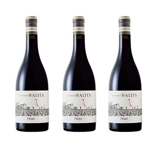 Herència Altés L'Estel Vino Tinto - 3 botellas x 750ml - total: 2250 ml