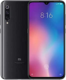 Xiaomi Mi 9 RAM 6GB/8GB ROM 64GB/128GB (Black ブラック) Snapdragon 855 MIUI10 6.39インチAMOLEDディスプレイ 4800万画素三眼カメラ搭載 スマートフォン 本体(グローバル版/日本語対応・Googleアプリ対応)