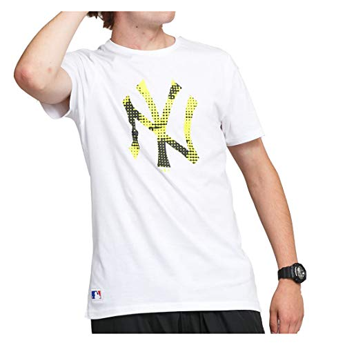 New Era Camiseta línea York Yankees Modelo MLB INFILL Team Logo tee NEYYAN Marca