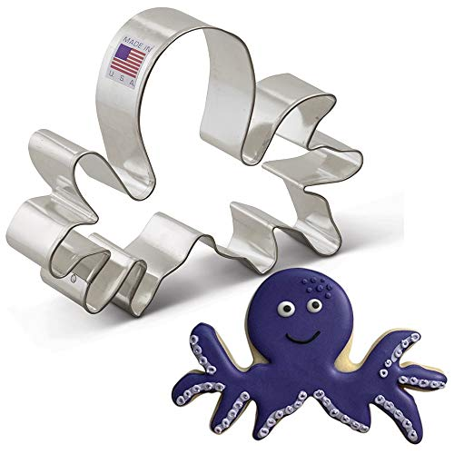 Cookie Cutter for Octopus Cookies