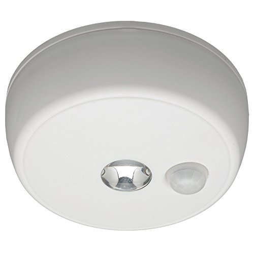 Mr. Beams MB980 Wireless Battery-Operated Indoor/Outdoor Motion-Sensing LED Ceiling Light