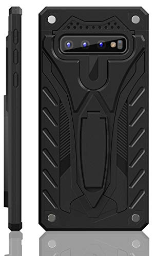 Samsung Galaxy S10 Case | Military Grade | 12ft. Drop Tested Protective Case | Kickstand | Wireless Charging | Compatible with Galaxy S10 - Black