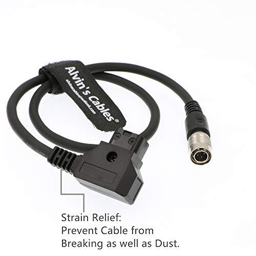 Cable de alimentación del dispositivo de sonido Hirose 4 Pin hembra HR10A-7P-4S a ANTON BAUER D-tap