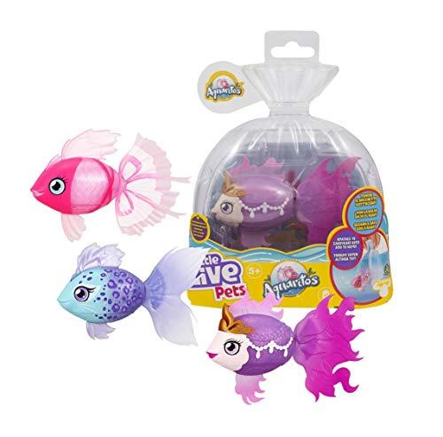 Little Live Pets- Llp Aquaritos S1 Mascota interactiva, Multicolor (Famosa LP101110)
