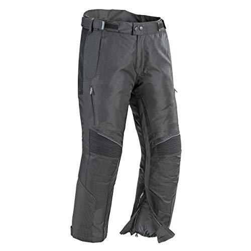 Joe Rocket Herren Motorradhose Ballistic Ultra Textil (schwarz, kurz, mittel)