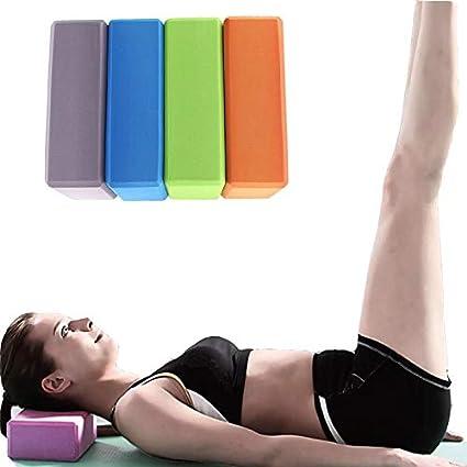 EVA Yoga Fitness Block Foam Brick Sports Pilates Tool Gym Workout Stretching