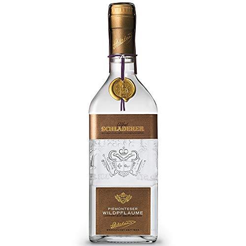 Schladerer Piemonteser Wildpflaume, 3 Jahre gereifter Obstbrand aus dem Schwarzwald, limitiert auf 1.844 Flaschen, ausschließlich aus handverlesenen Wildpflaumen aus dem Piemont (1 x 0.7 l)