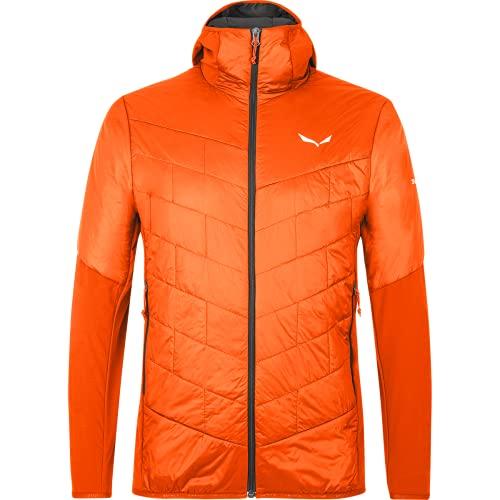 Salewa Sternai Tirol Wool, Giacca Isolante Foderata in Lana Uomo, Rosso (Red Orange/0910), 54/2X