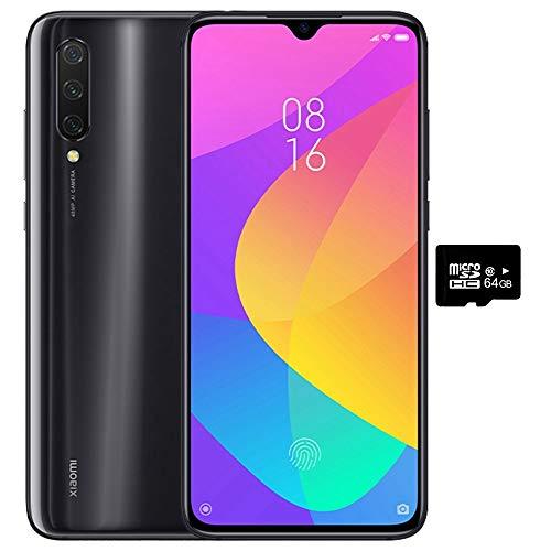Xiaomi Mi 9 Lite (64GB, 6GB RAM) 6.39' Display, Dual SIM GSM Factory Unlocked - US & Global 4G LTE International Version (Onyx Grey, 64 GB)