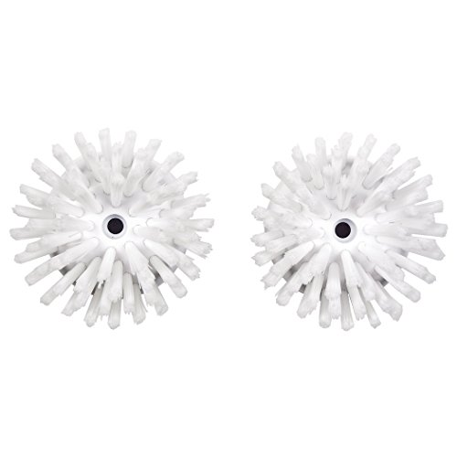 Price comparison product image OXO Good Grips Soap Dispensing Palm Brush Refills,  2-Pack, White, 1