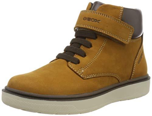 Geox Jungen J RIDDOCK BOY WPF A Chukka Boots, Gelb (Dk Yellow C2006), 38 EU