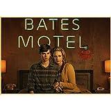 No Bates Motel Carteles E Impresiones Vintage Arte Lienzo Pintura Wall Pictures Poster para Sala De...