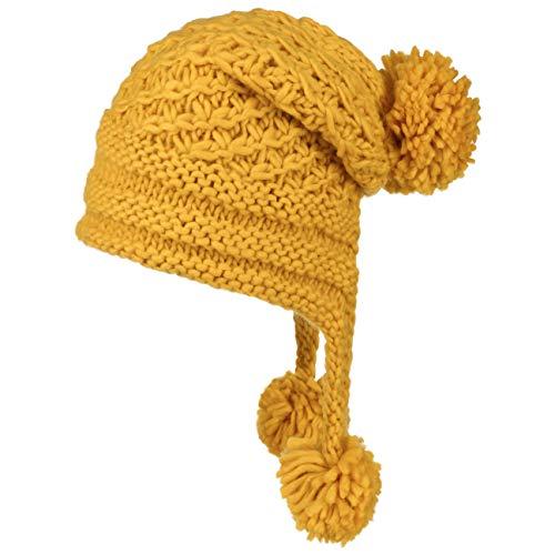 Lipodo Inca Pomponmuts Dames/Kinderen - wintermuts gebreide muts Oversize voor Herfst/Winter