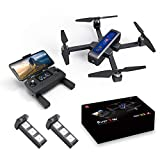 Drone,MJX Bugs 4W Mini Drone con Cámara HD Video WiFi En Vivo, 4W Bugs 5G 4K DroneToy Quadcopter para MJX, Bueno para Principiantes, Motor Sin Escobillas Flujo Óptico Posicionamiento Global