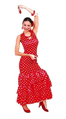 Guirca- Disfraz adulta flamenca, Talla 38-40 (80629.0)