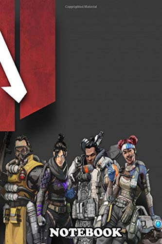 Notebook: Apex Legends All Ch Logo , Journal for Writing, College Ruled Size 6' x 9', 110 Pages