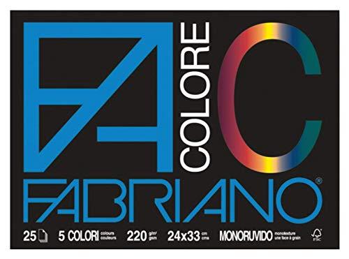 CARTELLA FABRIANO COLORE 24X33 L/R
