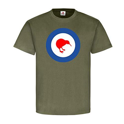 New Zealand Nieuw-Zeeland kiwi vogel vlag vlag wapen badge embleem - T-shirt #1532